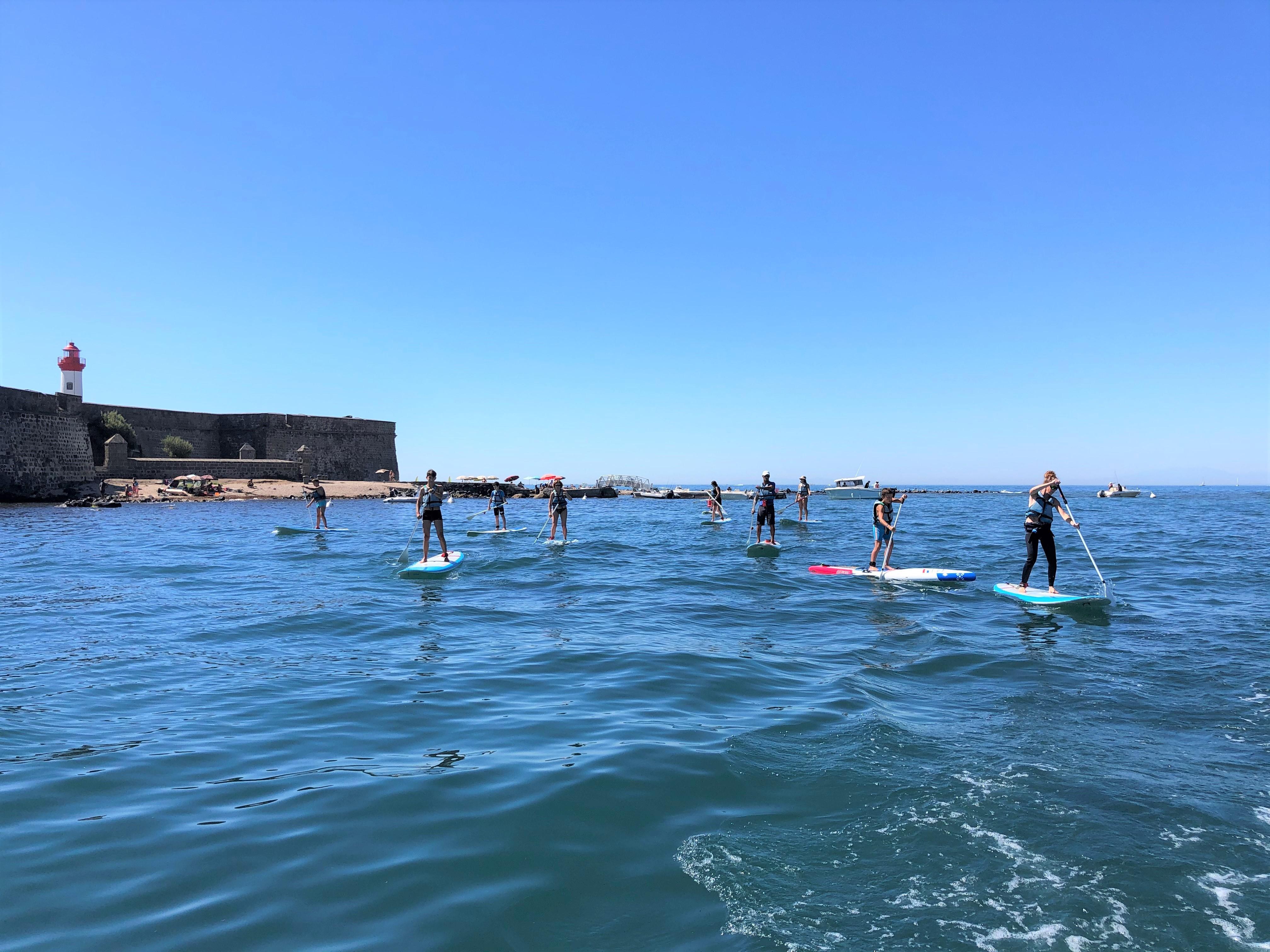 Sortie Paddle découverte du littoral
