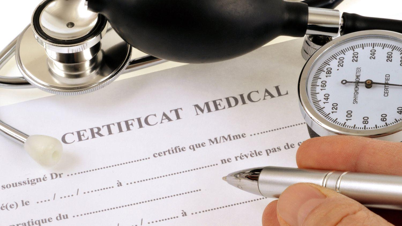 Fin du Certificat Medical